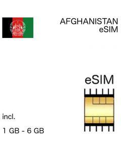 eSIM Afghanistan