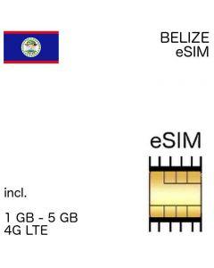 eSIM Belize