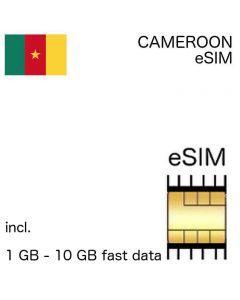 eSIM Cameroon