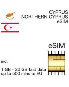 eSIM Cyprus - Northern Cyprus