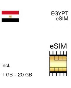Egypt eSIM - no ID required