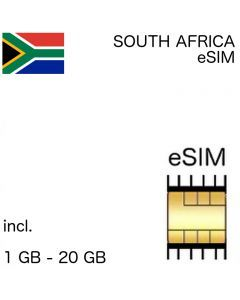 South Africa eSIM (embedded SIM)