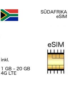 Südafrika eSIM (embedded SIM)