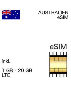 Australien eSIM (embedded SIM)