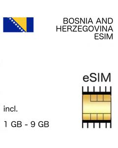 Bosnia and Herzegovina eSIM