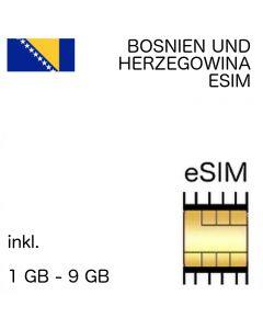 Bosnien und Herzegowina eSIM
