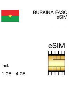 eSIM Burkina Faso