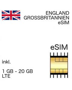 England - Grossbritannien eSIM