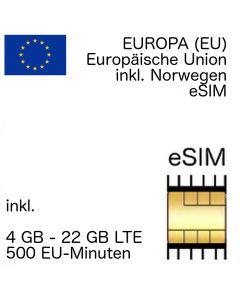 Europa (EU) eSIM
