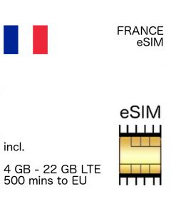 France eSIM (embedded SIM)