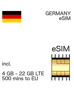 Germany eSIM (embedded SIM)