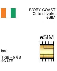 Ivory Coast eSIM