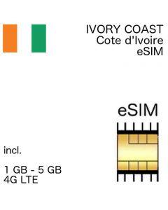 esim Ivory Coast