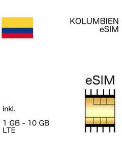 eSIM Columbia