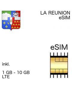 eSIM La Reunion