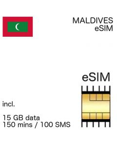 eSIM Maldives