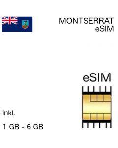 eSIM Montserrat