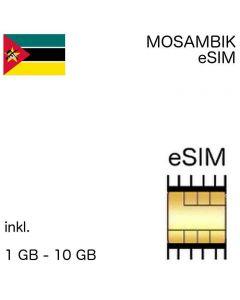 eSIM Mosambik