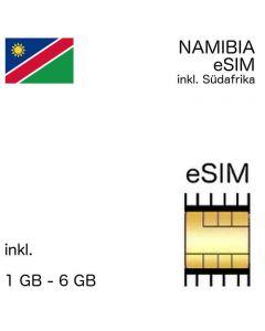 eSIM Namibia inkl. Südafrika