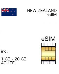 New Zealand eSIM (embedded SIM)
