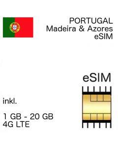 Portugal eSIM (embedded SIM)