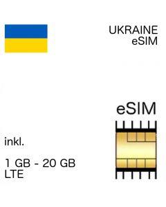 Ukraine eSIM (embedded SIM)