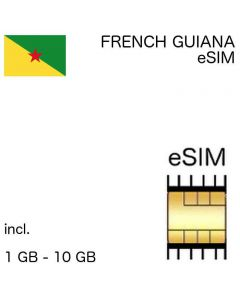 eSIM French Guiana