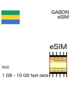 eSIM Gabon
