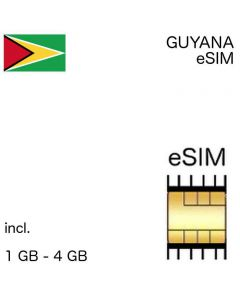 eSIM Guyana