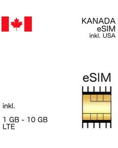 Kanada eSIM