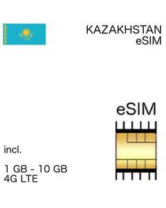 eSIM Kazakhstan