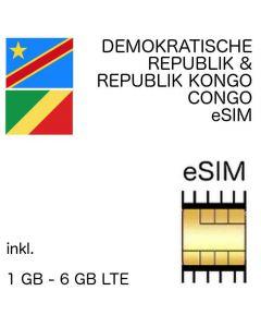 eSIM Kongo