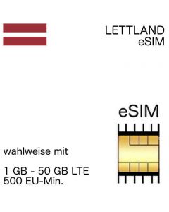eSIM Estonia incl. 1- 50 GB and EU