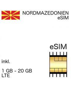 Nordmazedonien eSIM (embedded SIM)