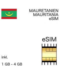 eSIM Mauretanien