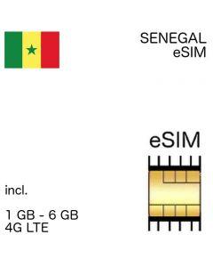 eSIM Senegal