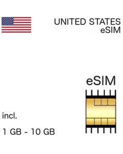 US eSIM United States embedded SIM