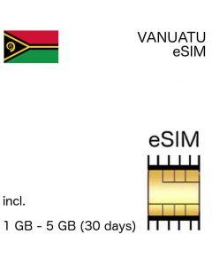 eSIM Vanuatu
